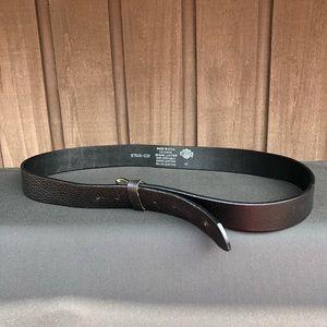 Harley Davidson leather belt - black- size 42